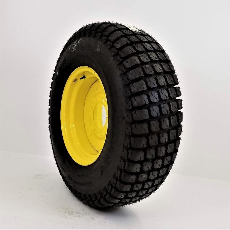 41x14.00-20 Galaxy Mighty Mow 4 ply Tire on 8 Hole Ag Wheel - JD Yellow